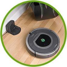 iRobot Roomba Automatisches Aufladen des Akkus