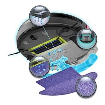 Moneual ME685 Roboter Staubsauger mit Nasswisch Funktion - 5