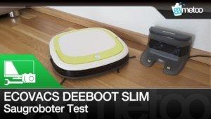 Ecovacs Robotics Deebot Slim Test | Günstiger Staubsauger Roboter Erfahrungen