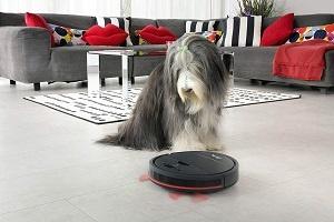 Vileda VR 201 PetPro Saugroboter (optimiert für Tierhaare,